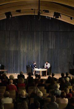 Catherine Millet aime D.H Lawrence pendant le festival Ritournelles