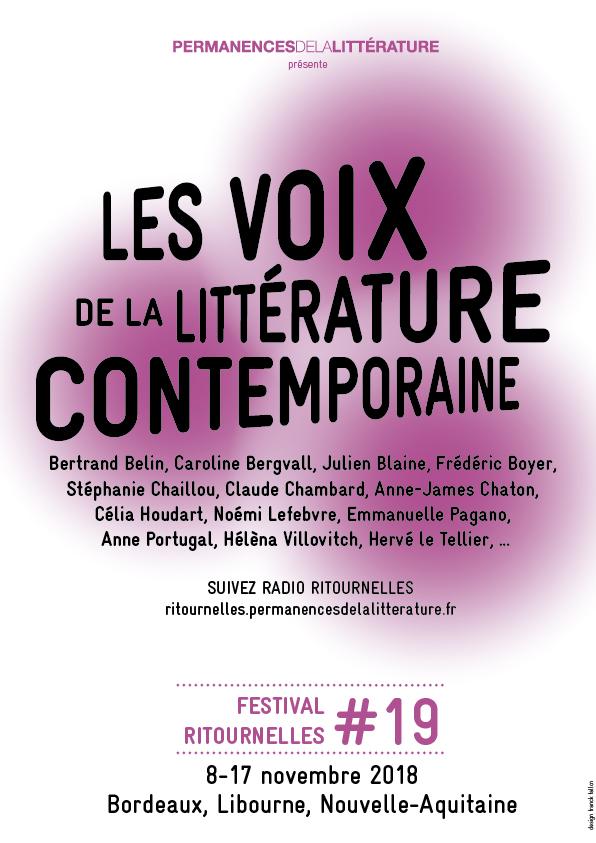 Festival Ritournelles 2018