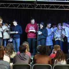 Les jeunes du libournais lisent les auteurs contemporains pour Radio Ritournelles