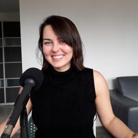 Laurie Bédard enregistre pour l'Enfance de la littérature